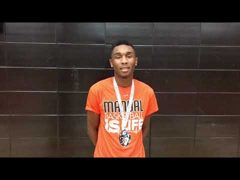 """MTI Defensive Player of the Week: Rolando """"Pee Wee"""" Brown, Manual Academy"""