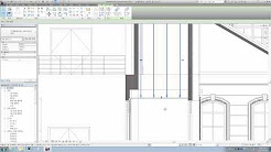 Revit tips - How to place ceiling hangers in a section view #1