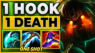 The BEST 1st Blood Hook You Will EVER See!! - BunnyFuFuu | League of Legends