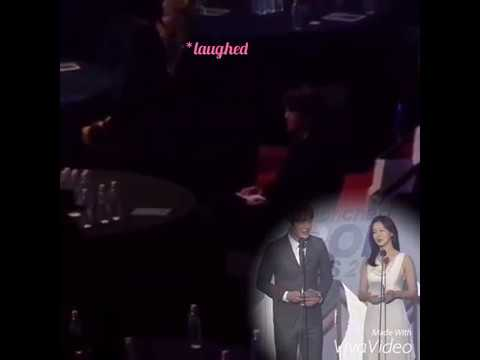 Taeyeon laughs baekhyun when viewed on the...