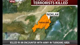 7 NSCN-K militants killed in Nagaland