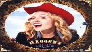 Madonna - Don_t Tell Me