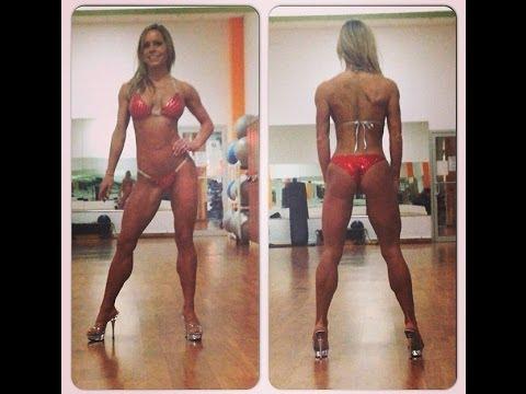 Chest at Metroflex Gym - Arlington with Bikini Competitor Amanda Hadley