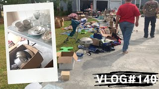 [임신Vlog] Yard Sale (Garage Sal…