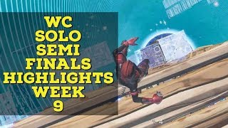 World cup Solo Semi Finals Week 9 Highlights