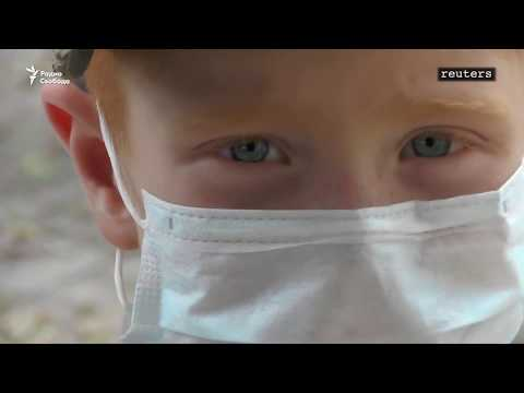 В Армянске эвакуируют детей