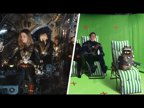 Avengers Endgame Without The VFX - Part 2 [DNEG VFX Breakdown]