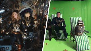 Avengers Endgame Without the VFX - Part 2 [DNEG VFX Breakdown]