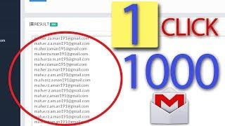 how to create unlimited gmail accounts in 1click
