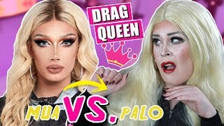 ¡DRAG QUEEN Drama! | Intenté seguir un TUTORIAL de MAQUILLAJE de JAMES CHARLES | #MiniAD