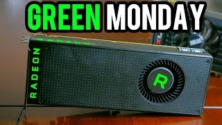 TOP 10 GREEN MONDAY 2018 PC Gaming HARDWARE DEALS! - ONE DAY ONLY