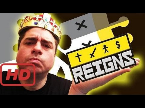 REIGNS ! HUNTAH THE GREEDY & his KINGDOM OF TERROR (1st Look Android / iOS Gameplay)  #ISR