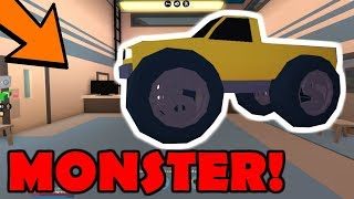 SAVING UP FOR THE MONSTER TRUCK! | ONLY VEHICLE I DON'T HAVE! | Roblox Jailbreak Games LIVE 🔴
