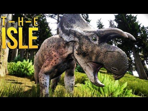 The Isle - Jogando De Avaceratops, Pequeno Herbívoro! | Novo Dinossauro (#99) (Gameplay/PT-BR)