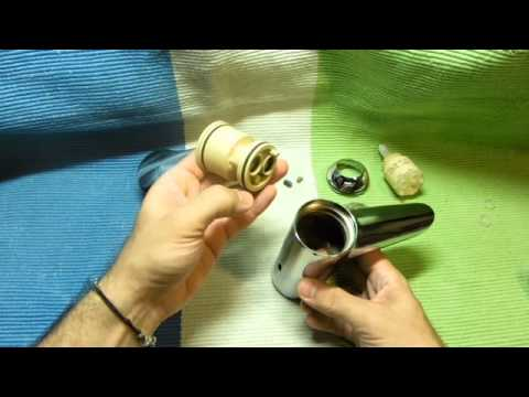 Desmontar grifo Grohe Eurostyle y extraer manguitos - YouTube