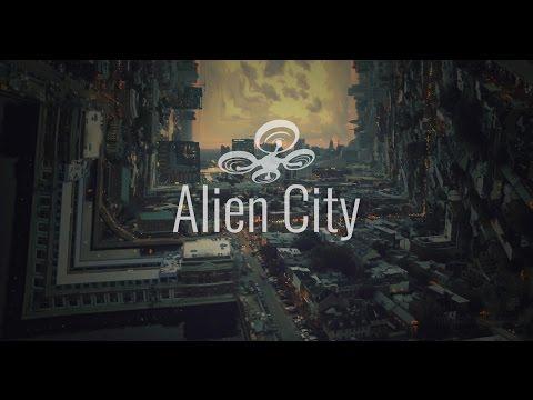 Alien City - Drone FX! Cinematic & Futuristic