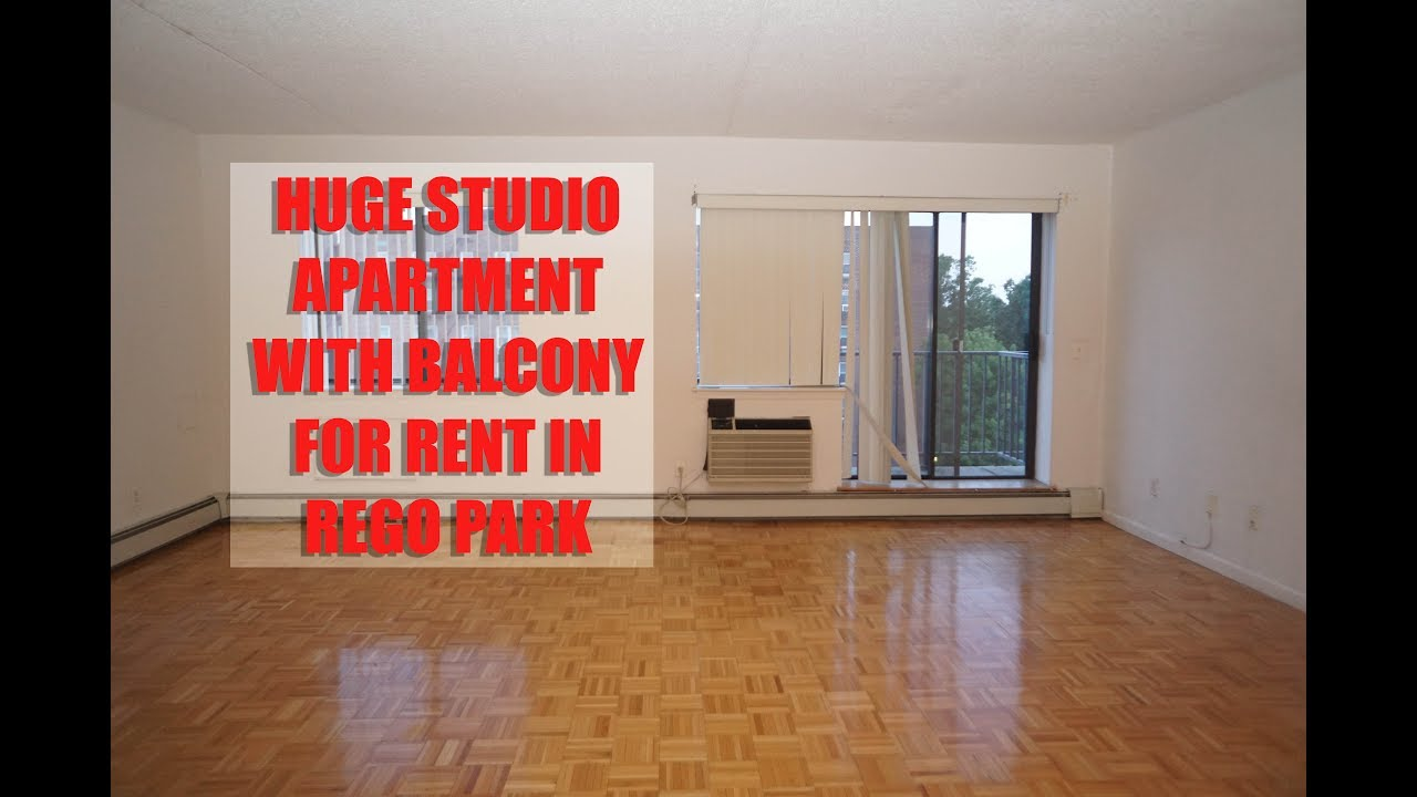 Huge Studio apartment with balcony for rent in Rego park ...