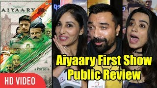 Aiyaary Movie Public Review | First Day First Show Review | Ajaz Khan, Soundarya, Pooja Chopra