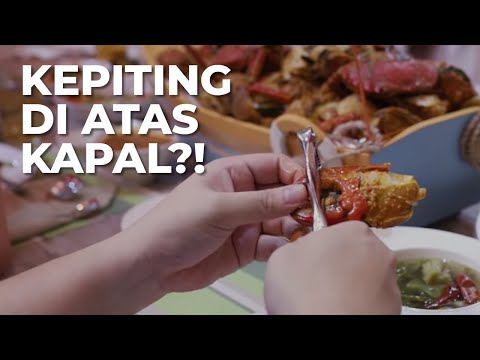 Kepiting di atas KAPAL?! Private Dining di Purezza Cafe