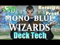 Mtg Budget Deck: $30 Mono-Blue Wizards (Rotation Proof)!
