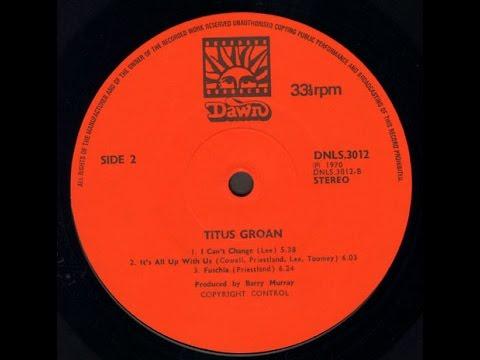 Titus Groan (Full Album) - Rare Original 1970 UK Prog Rock LP on Dawn £600