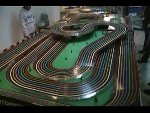 Slot Cars Video 18 Bsrt Wizzard Tyco Competition Unlimited In