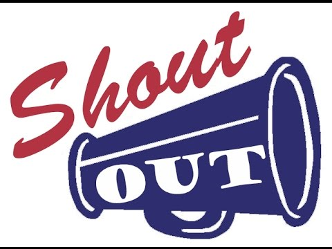 special shout out youtube rh youtube com clipart birthday shout out big shout out clip art