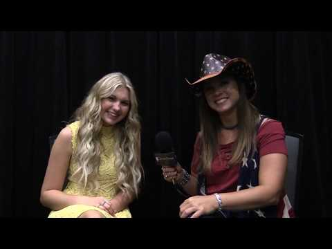 Brennley Brown Interview CMA Fest 2017