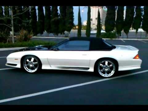 Best 1991 Camaro 91 Z28 Convertible YouTube