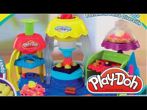 Пластилин для детей Плей до набор Фабрика Пирожных