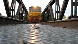 Train over camera