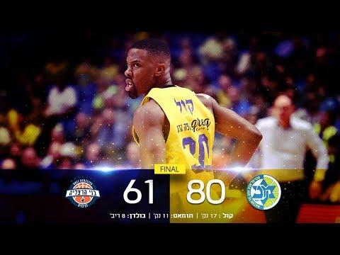 Winner-League, Game 2: Maccabi FOX Tel Aviv 80 - Bnei Hertzliya 61
