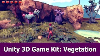 Unity 3D Game Kit Tutorial : Vegetation & Rocks