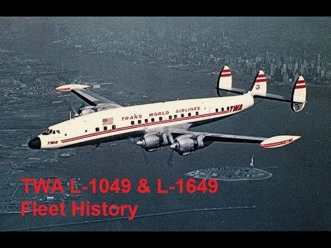 Trans World Airlines L-1049 and L-1649 Fleet History