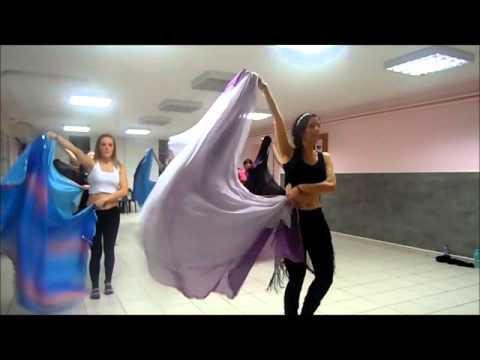 Chorée double voile niveau intermédiaire, danse orientale Shamis