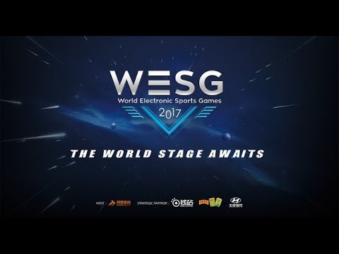 WESG 2017 APAC FINALS - Group Stage