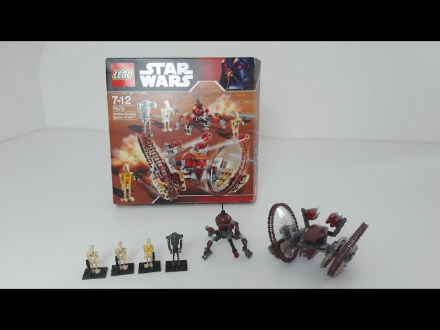 Lego Collectors Guide Episode #8 7670 Hallfire Droid & Spider Droid