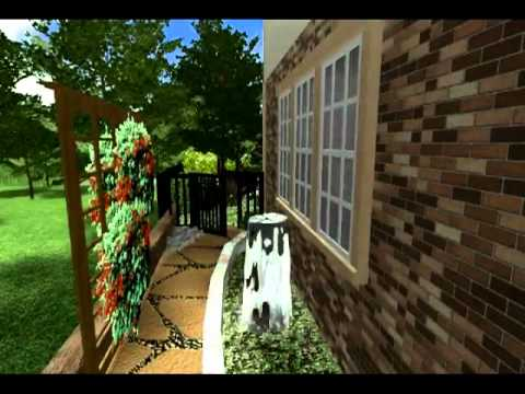 3d Virtual Tour Of The Landscape Design Day Youtube
