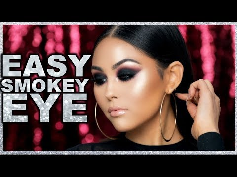 EASY SMOKEY EYE MAKEUP TUTORIAL | Roxette Arisa
