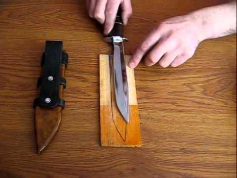 Как сделать деревянные Ножны своими руками.