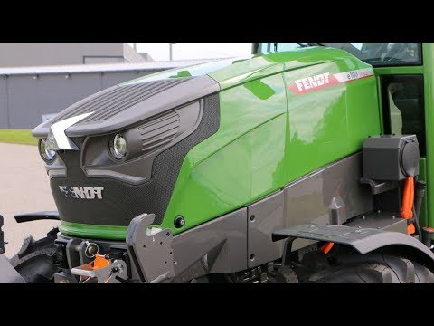 Fendt | New Fendt e100 Vario | The battery-powered compact tractor | Fendt vario | TractorLab