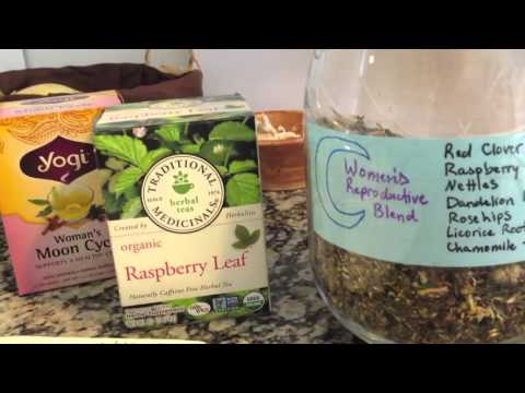 Women's Reproductive Health Herbal Infusion