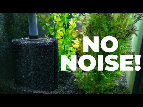 How To Use A Sponge Filter With No Air Pump (Powerheads!)