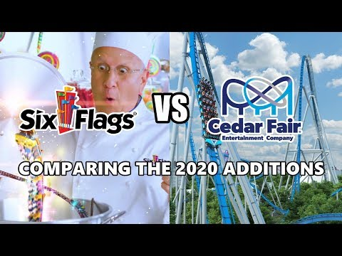Six Flags Vs Cedar Fair - Comparing The 2020 Additions