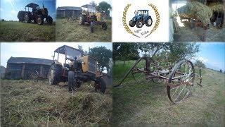 Drugi pokos trawy i awaria ciągnika czyli sianokosy 2018