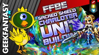 FFBE 7 Stars Sacred Shield Charlotte Review: A SS Tier Magic Tank (#793)