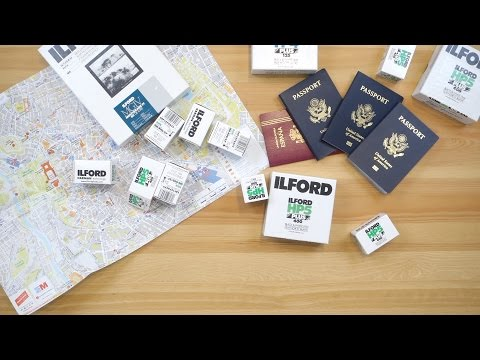 Traveling with film and paper