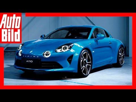 Alpine A110 - Der neue Sport-Renault (2017) Review/Details