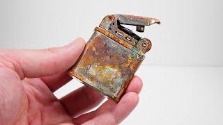 Antique Jet Flame Lighter Restoration