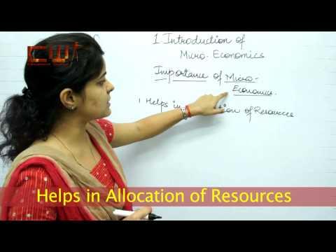 INTRODUCTION TO MICRO ECONOMICS CHAPTER: 1, STD.: 12TH, ECONOMICS